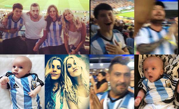 La emoción del clan Tinelli por el triunfo argentino frente a Bosnia