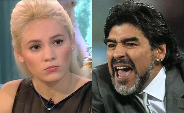 Rocío Oliva podría quedar presa por una denuncia de Maradona