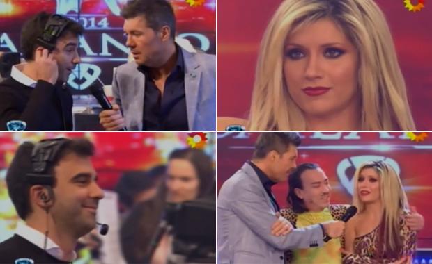 La (casi) declaración de amor de Laurita Fernández a Federico Hoppe en vivo