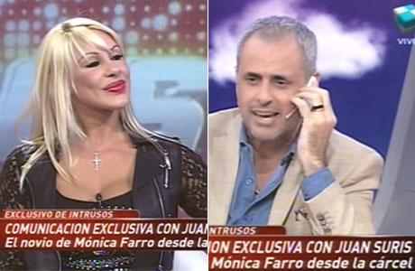 Jorge Rial llamó al novio de Mónica Farro a la cárcel: