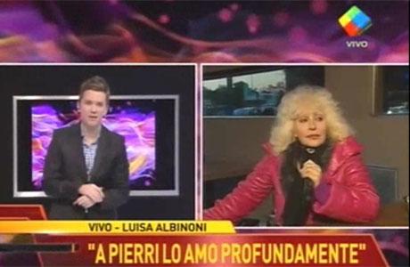 Miguel Ángel Pierri habló de los rumores de romance con Luisa Albinoni:
