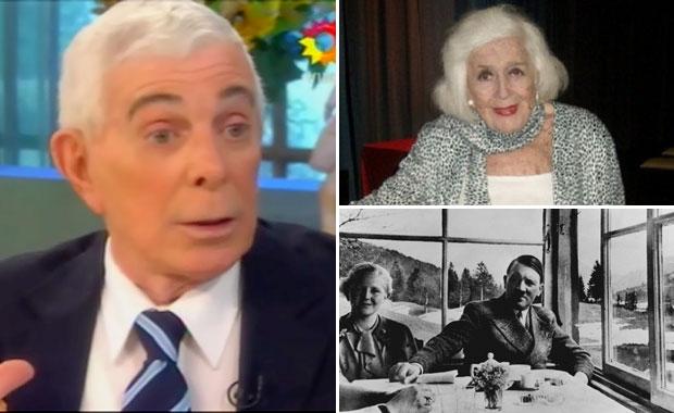 La increíble anécdota de Carlos Perciavalle junto a China Zorrilla en Bariloche: ¿vieron a Adolf Hitler y Eva Braun?