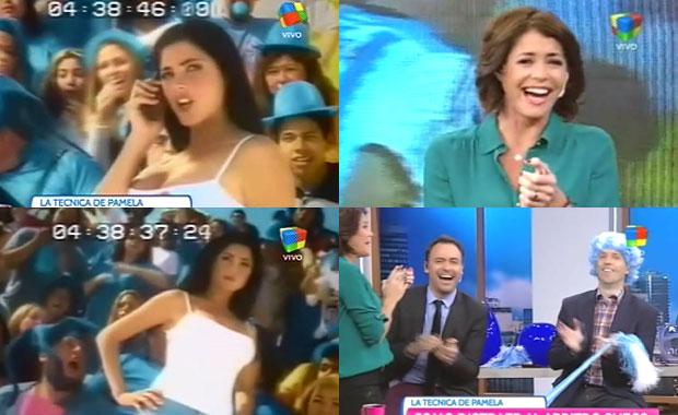 Pamela David  y un divertido recuerdo de su pasado como modelo en Paraguay