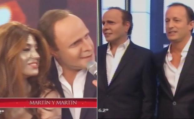 Martín Insaurralde y su imitador, cara a cara en ShowMatch