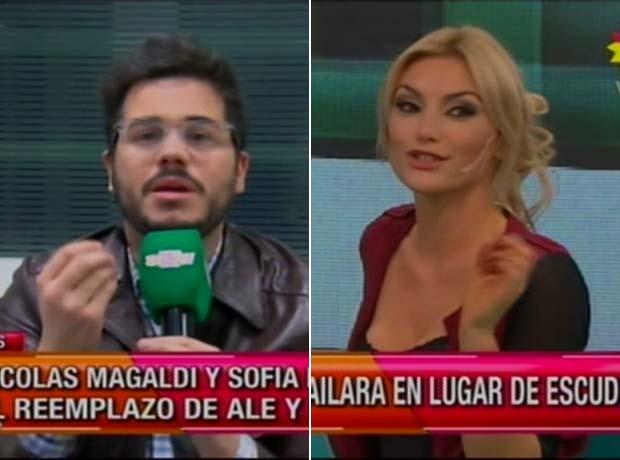 Nicolás Magaldi y Sofía Macaggi, la nueva dupla de ShowMatch