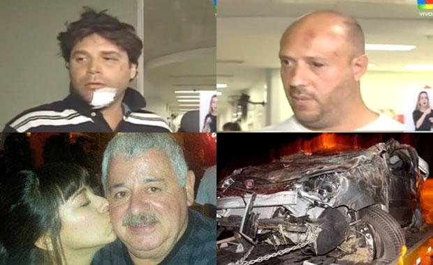 Los productores que viajaban junto a la hija de Tití Fernández relataron el terrible accidente