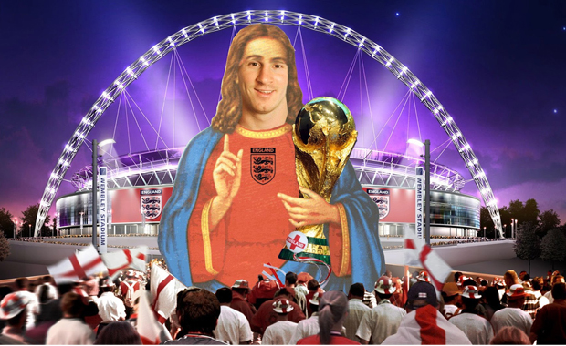 Una banda inglesa sueña con que Lionel Messi sea inglés para poder ganar el mundial