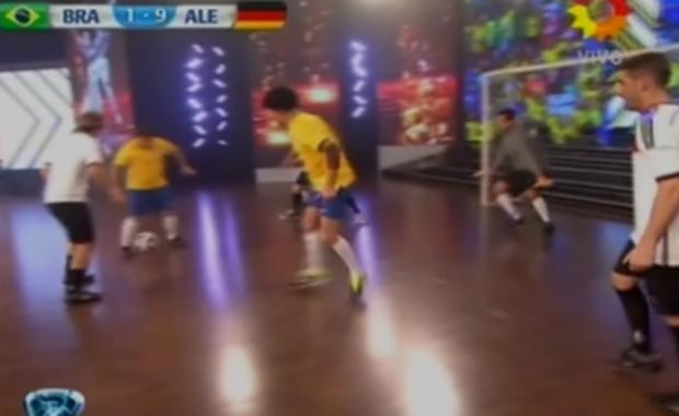 ShowMatch: la divertida parodia del partido Brasil-Alemania