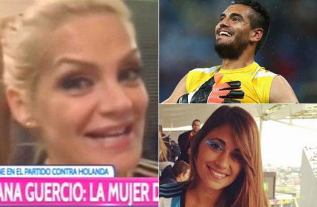 Eliana Guercio negó estar enfrentada con sus compatriotas