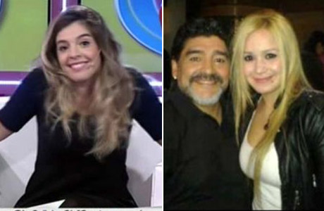 La sugestiva reacción de Dalma Maradona cuando le preguntaron su Diego salió con la Princesita: mirá el video