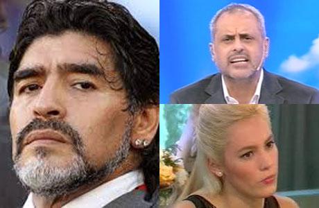 Diego Maradona no da el brazo a torcer con Rocío Oliva: