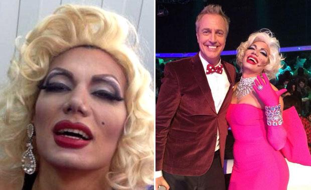 La cuestionada performance de Flor de la Ve como Marilyn Monroe