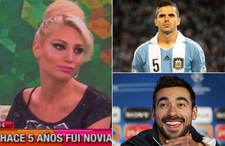 ¡Cayó en la volteada! Vicky Xipolitakis contó que tuvo un romance con Fernando Gago y aseguró que él le pasó su teléfono a Lavezzi