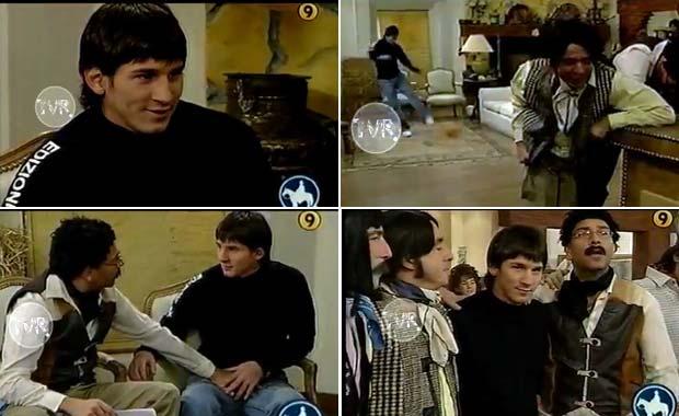 El video de Lionel Messi, a los 17 años,