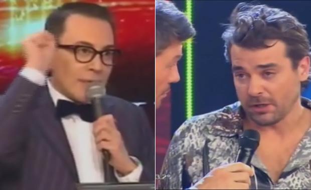 ShowMatch: Pedro Alfonso, otra vez furioso con Marcelo Polino por el bajo puntaje