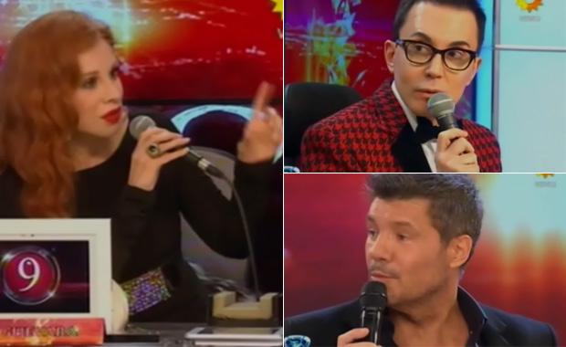 """ShowMatch: la lanzada actitud de Marcelo Polino que """"molestó"""" a Nacha Guevara"""