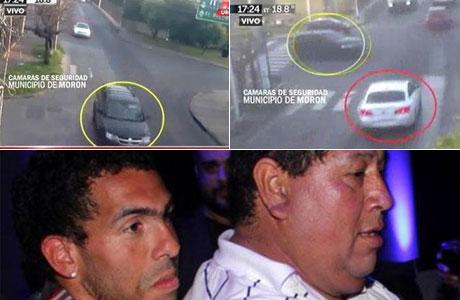 El video con las primeras imágenes del secuestro al papá de Carlos Tevez