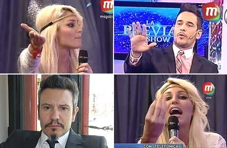 El video del tenso cruce en vivo entre Vicky Xipolitakis y Cristian Pérez Latorre