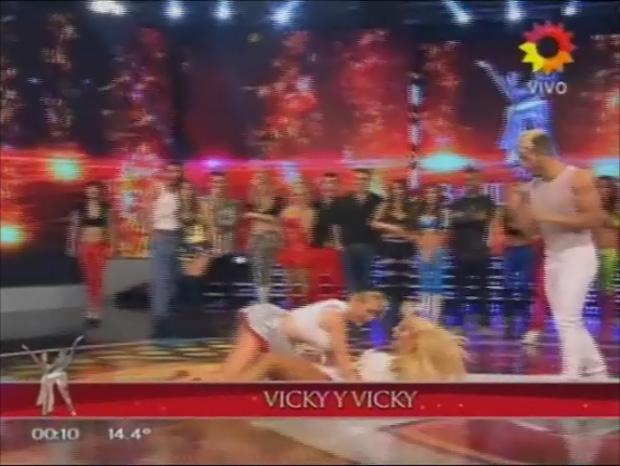 Imperdible imitación de Fátima Florez a Vicky Xipolitakis en ShowMatch