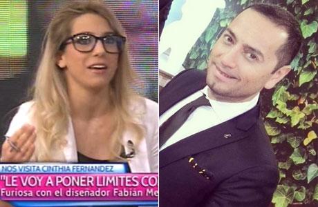¡Ahora imitadora! Cinthia Fernández copió los gestos y la voz de Fabián Mediana Flores cuando criticó el look de sus hijas