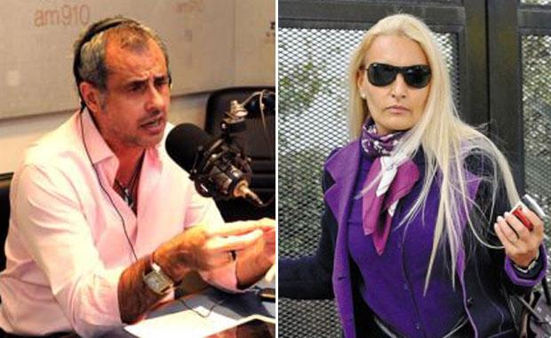 Jorge Rial le contestó a Silvia D' Auro: