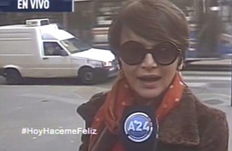 Amalia Granata, indignada por la ola de robos: