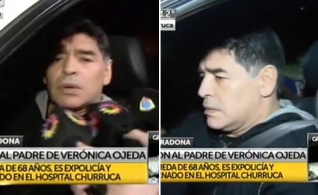 Diego Maradona habló del robo a su ex suegro, Carlos Ojeda