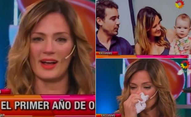 Paula Chaves y su emoción por el conmovedor video del primer año de Olivia
