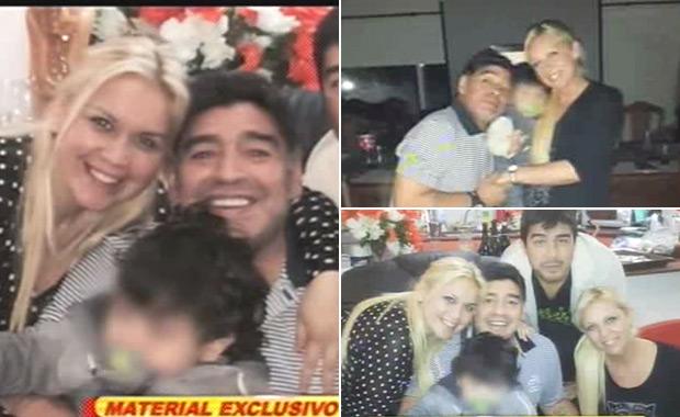 Diego Maradona se despidió de Verónica Ojeda y viaja a Dubai, ¿a levantarle la denuncia a Rocío Oliva?