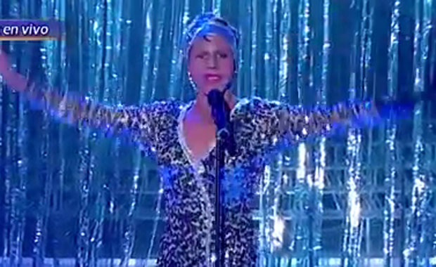La sorprendente imitación de Fernando Dente de Whitney Houston en Tu cara me suena