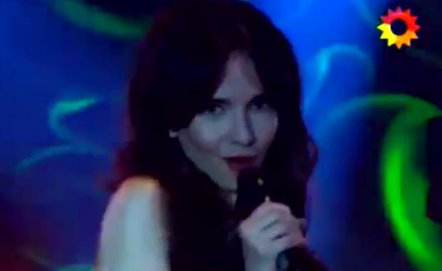 Natalia Oreiro como Gilda en Solamente vos
