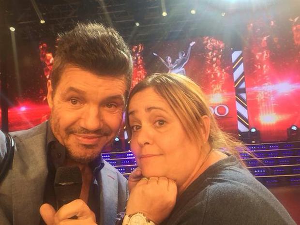 Majo Riera, la madre de Lali Espósito, en ShowMatch