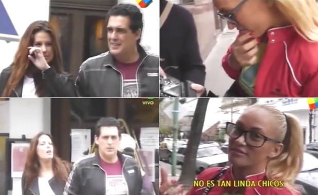 El ex marido de Eugenia Ritó presentó a su nueva pareja y Ritó opinó