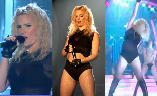 Griselda Siciliani brilló como Madonna en Tu cara me suena: ¡mirá su baile súper sexy!