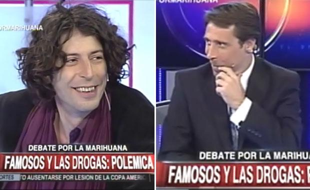 Andy Chango y el desopilante motivo por el que debatió sobre marihuana con Eduardo Feinmann