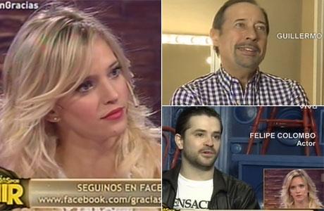 Guillermo Francella y Felipe Colombo le dedicaron palabras a Luisana Lopilato en su homenaje