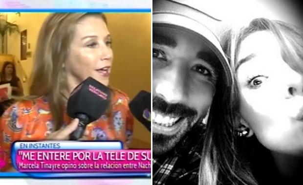 Marcela Tinayre habló del romance de Nacho Viale y Candelaria Tinelli: