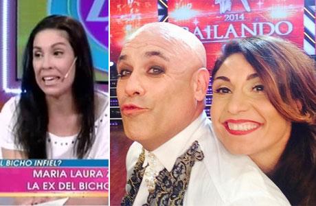 La ex mujer del Bicho Gómez, sobre la nueva pareja del actor: