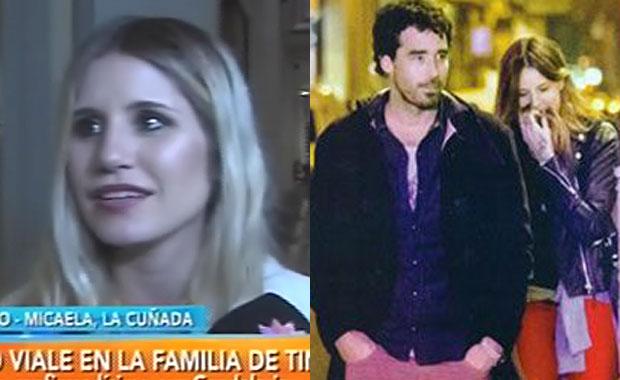 Micaela Tinelli aprobó a Nacho Viale como cuñado: