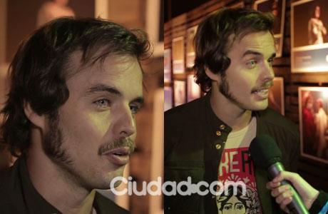 Benjamín Rojas, mano a mano exclusivo con Ciudad.com: