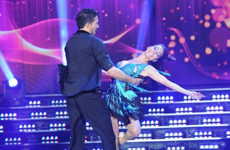 El video de la espectacular bachata de Mora Godoy en ShowMatch