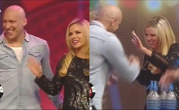 Jonás Gutiérrez y Alejandra Maglietti, súper enamorados: su primera aparición juntos en TV