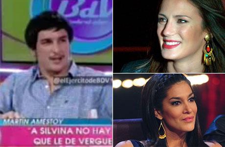 Martín Amestoy contó por qué se pelearon Silvina Escudero y Paula Chaves