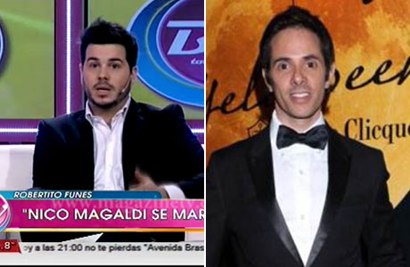 Magaldi le respondió a Robertito :