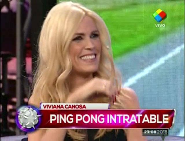 Viviana Canosa, ¡y una respuesta que dejó boquiabiertos a todos!