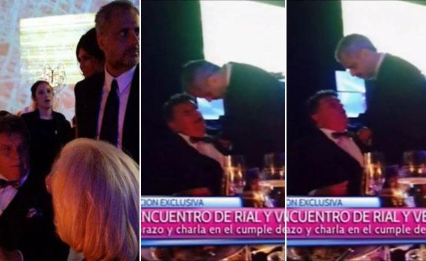 Los detalles de la intimidad del reencuentro de Jorge Rial y Luis Ventura