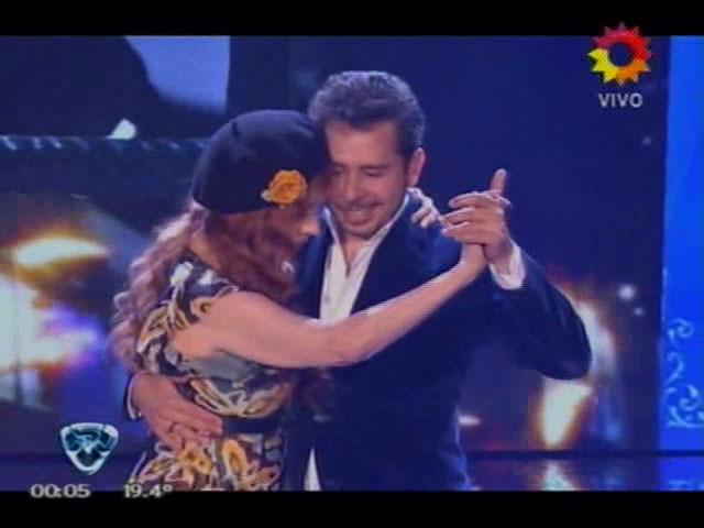 Nacha Guevara se animó a bailar tango en ShowMatch