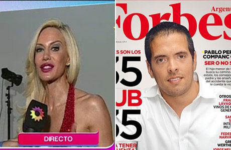 Luciana Salazar, ¿está de novia con uno de los herederos de la tercera mayor fortuna de Argentina?