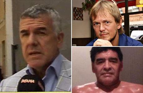 Dady Brieva defendió a su mánager de Diego Maradona: