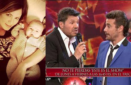 Marcelo Tinelli se quejó por el suspenso generado por el no embarazo de Paula Chaves